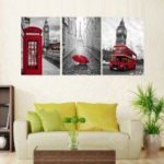 JY030 Precision Pictures Printed Decor Canvas Painting without Frame