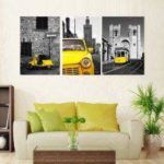 JY029 Precision Pictures Printed Decor Canvas Painting without Frame