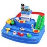 Children Board Games Puzzle Intellectual Development Track Toy Kit Car Table Game