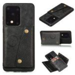 Card Wallet PU Leather Phone Case Cover for Samsung Galaxy S20 Ultra / S20 / S20 Plus