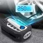 VM03 Core Fast Charging 12V Car Air Pump Metal Cylinder Intelligent Digital Tire Inflator