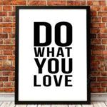 English Art Posters Inspirational Quotations Personalized Home Decorative Painting without Inner Frame