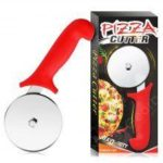 11012120 Pizza Cutter Wheel Slicer Heavy Stainless Steel Thin Sharp Blade