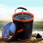12L Large Capacity Folding Bucket Thick Outdoor Fishing Storage Pail