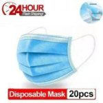 Disposable Protective Mask Elastic Mouth Soft Breathable Face Mask