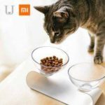 Xiaomi Jordan Judy PE001 Pet Dog Cat Pet Double Bowl Transparent Tilt Design Healthy Material