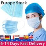 Mask Disposable Protect 3 Layers Filter Dustproof Earloop Non Woven Mouth Masks