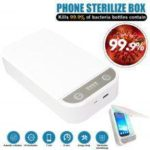 UV Phone Sterilizer Box Phones Cleaner Sanitizer Disinfection Cabinet For Mask