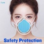 Silicone mask KN95 dust protection filter four-layer filtration multiple filter repeated use