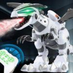 Spray Mechanical Dinosaur Toy Remote Control Robot