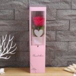 Artificial Single Branch of Soap Rose Flower Valentine Day Gift Home Decoration