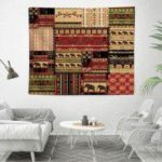 Bohemian Style 3D Digital Printing Home Decoration Tapestry Background Cloth