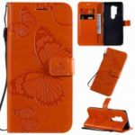 Butterfly Embossing Phone Case for One Plus 8 Pro