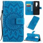 Sun Flower Embossing Phone Case for One Plus 8 Pro