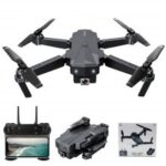 SG107 Foldable Wi-Fi FPV RC Helicopter Quadcopter Drone with HD Camera Optical Flow Positioning