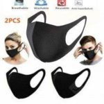 Reusable Mask Unisex Face Sponge Washable Anti Dust Pollution Wind PM2.5 Non-Medical Mouth Mask