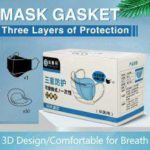 Mask Replacement Non-Woven Dust Pad Three Layers Protective Disposable Melt-Blown Cloth Mask Gasket