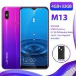 LEAGOO M13 4GB RAM 32GB ROM Mobile Phone Android 9.0 6.1 inch Waterdrop Screen MTK6761 Quad Core
