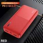 TOPK I2009Q 20000mAh Fast Charge Powerbank QC3.0 Dual Ports USB Charger PD3.0 External Battery