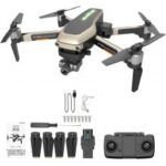 X1 PRO GPS Folding Drone 4k Wide Angle WiFi FPV HD Camera Selfie Two-Axis Mechanical Gimbal GPS One Key to Return
