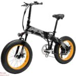Pre-sale LANKELEISI X2000Plus Electric Bike Bicycle 48V 10.4AH 500W 20in Tire 90KM Mileage