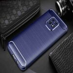 Brushed Carbon Fiber Phone Case for Xiaomi Redmi 10X 5G / Redmi 10X Pro