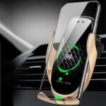 Vehicle Wireless Charging Holder Multifunction Car Phone Holder Auto-induction
