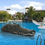 B802 2.4G Wireless Remote Control Crocodile Speedboat Summer Water Spoof RC Boat Toy