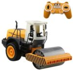 DOUBLE E E522-003 1:20 Simulation Remote Control Toy Truck Compactor RC Engineering Car