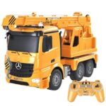 DOUBLE E E526-003 1:20 Simulation Remote Control Toy Truck Cranes RC Engineering Car