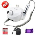 Professional Electric Nail Drill Machine 35000RPM Pro Manicure Machine Apparatus For Manicure Pedicure Kit Electric Nail File With Cutter Nail Tool