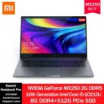Xiaomi Notebook Pro 15.6 inch Enhanced Edition MX250 Intel Core I5-10210U/I7-10510U 8G/16G DDR4 512GB/1TB PCle SSD Laptop 100%sRGB Fingerprint Unlock