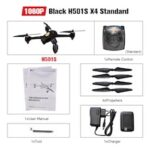 Hubsan H501S H501SS X4 Pro 5.8G FPV Brushless W1080P HD Camera GPS RTF Follow Me Mode Quadcopter Helicopter RC Drone