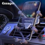 Essager Gravity Car Phone Holder  For iPhone Xiaomi Air Vent Car Mount Holder For Phone in Car Mobile Phone Holder