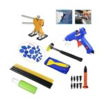 Paintless Dent Repair Tools Dent Repair Kit Car Dent Puller with Glue Puller Tabs Removal Kits for Vehicle Car Auto