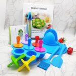 Kitchenware Silicone Popsicle Ice Cream Making Mold 7 Pieces/Set