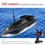 Flytec V500 V007 Fishing Bait RC Boat 500M Remote Fish Finder Using time Double Motor Outdoor Toy With Transmitter
