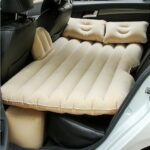 Colorgonails Inflatable Car Air Mattress Air Bed with Pump Kit Back Seat Travel Air Mattress Camping Vacation Blow up Bed