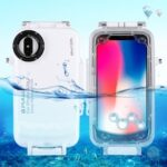 PULUZ  PU9005 40m/130ft Waterproof Diving Housing Photo Video Taking Underwater Cover Case for iPhone