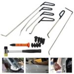 Auto Body Car Dent Repair Tools Rods Hook Tool Paintless Dent Repair Car Dent Removal Tool Kit Hail Hammer Dent remove Set