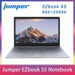 2020 NEW Jumper EZbook S5 14.0 Inch 8GB Ram 256GB SSD CPU N3450 1920 1080 FHD IPS 1.25KG Light 4600mAh Windows10 Notebook Laptop