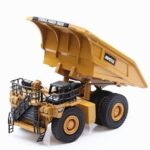 HUINA 7812 Aolly Dump Truck Model 1/60 Scale Excavator Mine Dump Truck Wheel Loader Excavator Engineering Construction Vehicle Truck Toy
