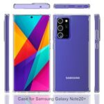 Acrylic Clear Full Cover Drop-Proof Phone Case for Samsung Note 20 Plus