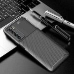 Beetle Carbon Fiber Phone Case for Huawei Play 4
