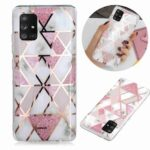 Electroplated Marble Process Phone Case for Samsung Galaxy A71 5G