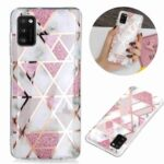 Electroplated Marble Process Phone Case for Samsung Galaxy A41