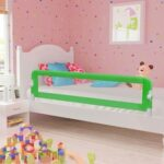 vidaXL Toddler Safety Bed Rail  18x42cm Polyester