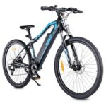 DOHIKER 27.5inch Electric Bicycle with Front Suspension Fork Dual Disc Brakes 250W Motor Removable 48V 12.5Ah Lithium-ion Battery