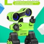 Virhuck JJRC R13 – YW CADY WIRI Power Robot Intelligent Science Exploration Toy Gift Green