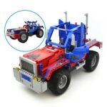 CaDA C51002W DIY Assembling Model Car Deformation Car Remote Control Toy Building Blocks Suit 531pcs